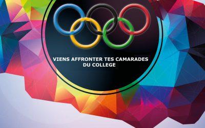 Olympiades AS du collège le 15 septembre